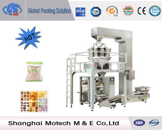 Automatic Food Granule Bag Packaging Machine with Multi Weighers pictures & photos