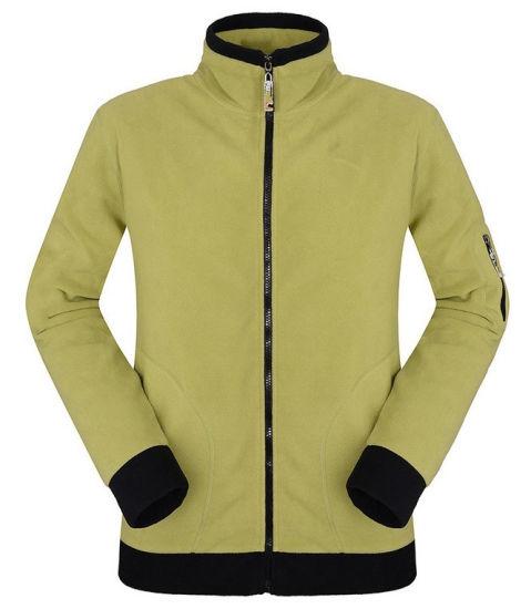 Zipper Design Men Polar Fleece Warm Casual Jacket