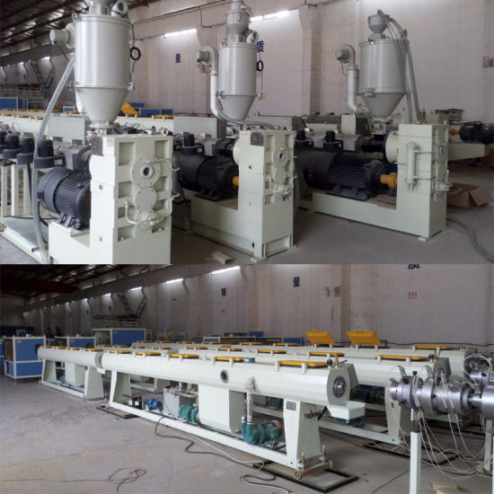 Pex/PP/PE Plastic Pipe Extrusion Machine with CE and ISO