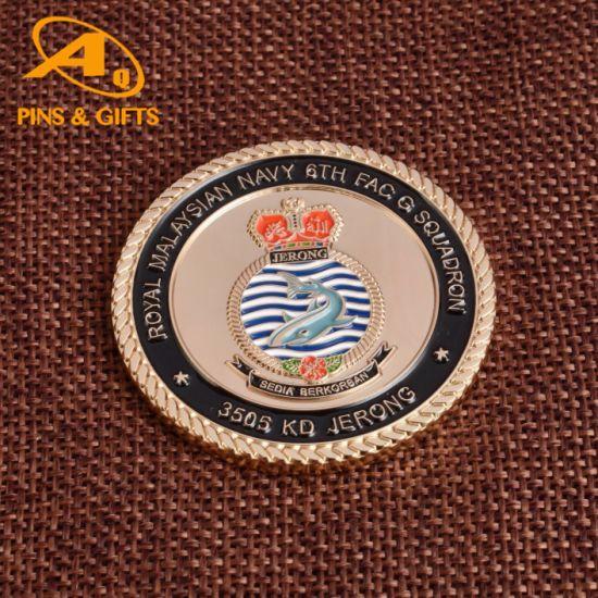 High Quality Enamel Souvenir Police Coins Religious Coins RFID Tag Star Antique Crafts Souvenir Coins Price (COIN-051)