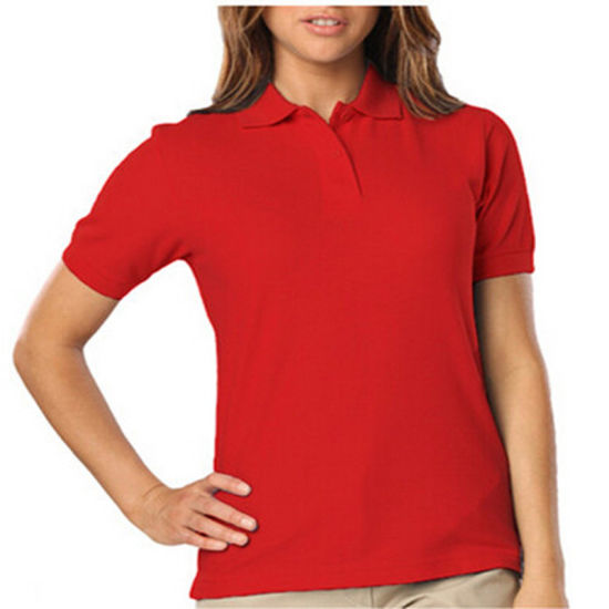 Cotton High School Uniform Polo Shirt / School Polo Shirt