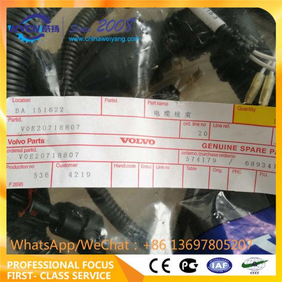 China Wire Harness Voe20718807 for Volvo Excavator Ec210 Ec240 ... on