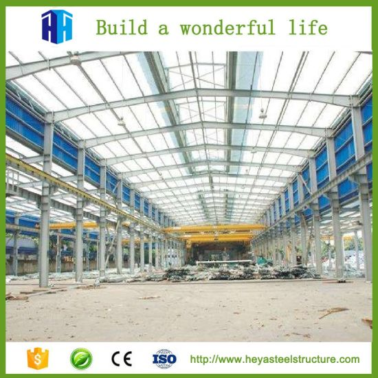 China Prefab Car Showroom Structure Rent Warehouse Garage Workshop ...