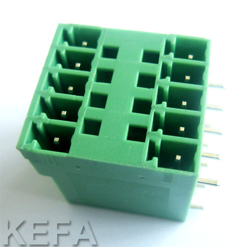 Double Row PCB Connector with VDE Approved Kf2edgrh/Vh-5.0/5.08 pictures & photos