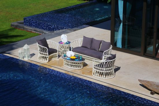 Factory Handmake Outdoor Garden Sofa Furniture with Classical Style