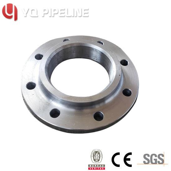 Black Mild Steel Blank Flange RF, DN150, Pn16 to BS4504