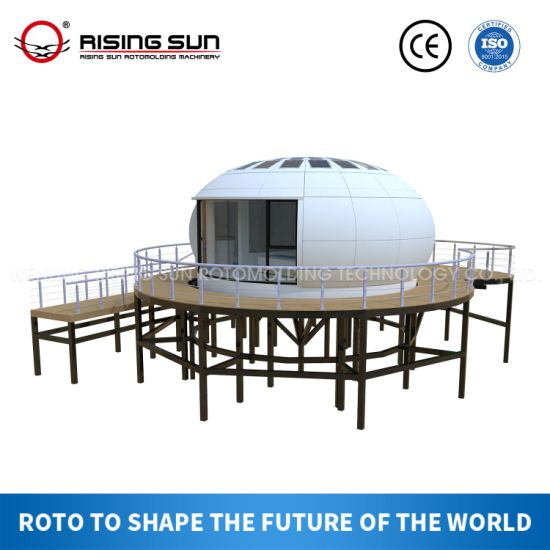 Prefab/Mobile/Plastic/Prefabricated Tiny House /Container/Box Space/Modular Building/Modular House for Camp/Worker Accommadation/Refugee Camp/Office/Hospital