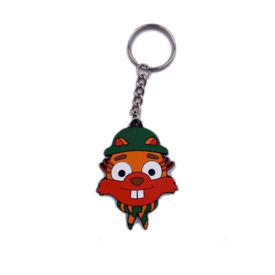 Hot Sales Custom Animal PVC Keychain for Gift