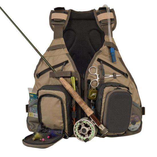 Adjustable Size Fly Backpack Vest 2020 Hot Sale Fishing Bag with Water Bladder