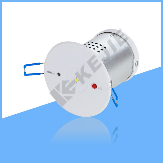 European Popular Compact Embedded LED Emergency Down Lights