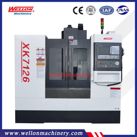 High Precision CNC Machining Center Xk7126 Vertical Machining Center