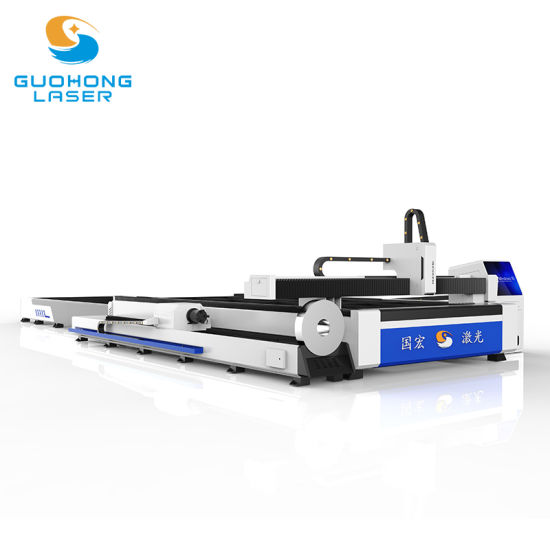Metal Sheet and Pipe Fiber Laser Cutting Machine Used in Agricultural Equipment