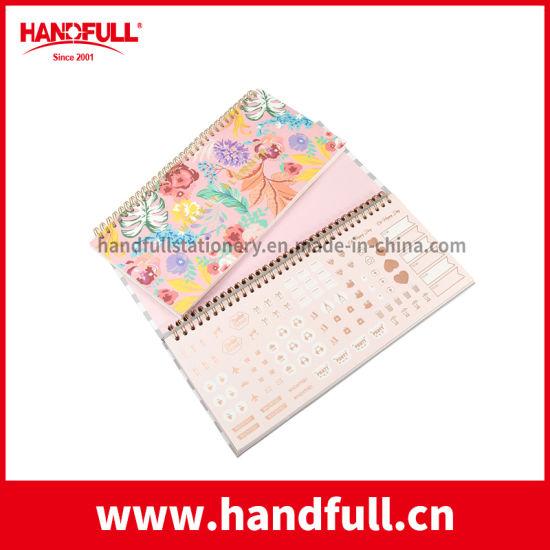 Custom High Quality 6 Ring Binder Weekly Diary Planner