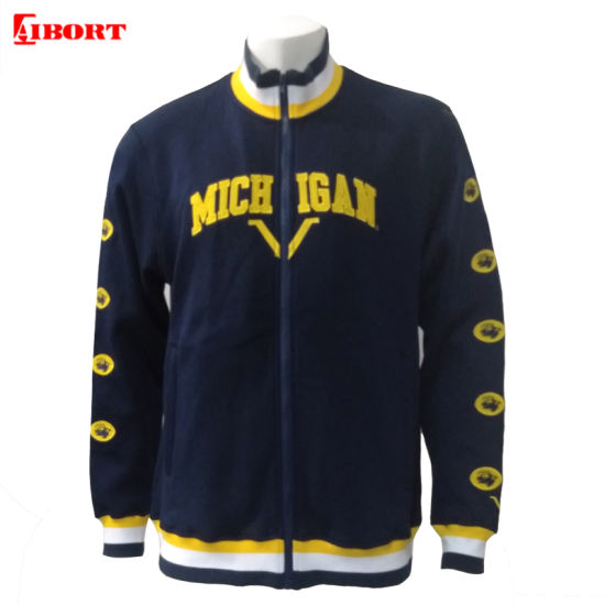 Aibort Customized Design Baseball Jackets with Embroidered Logo (V-JK-04)