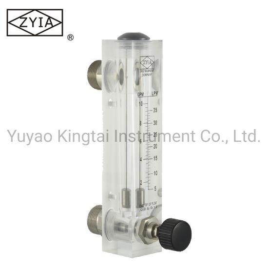 Lzm-15zt Acrylic Panel Type Water Liquid Flow Meter