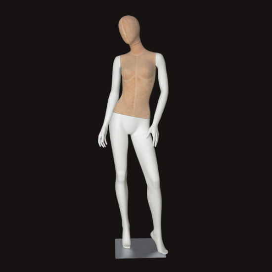 Good Quality Fiberglass Garment Display Fabric Female Mannequin From China Factory