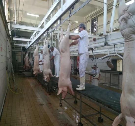 Pig Head Hydraulic Cutting Machine Pig Head Half Splitting Machine