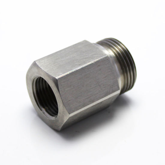 Hex Stainless Steel Machined Male and Female Threaded Reducing Bushing