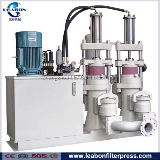 Hydraulic Mud Slurry Filter Press Transmission Plunger Pump