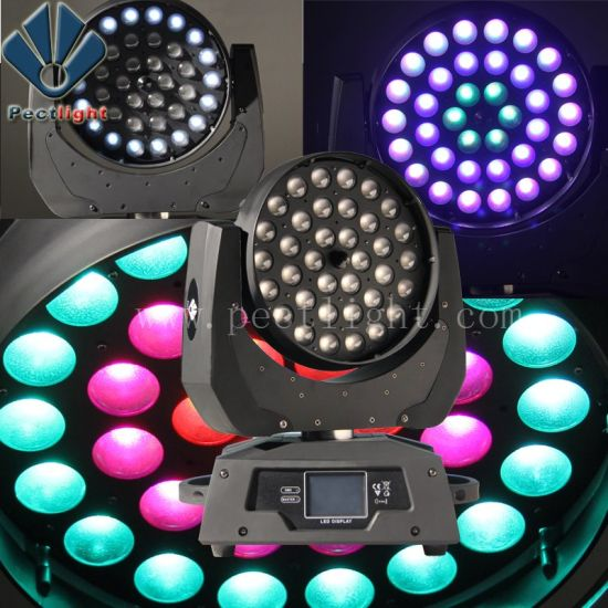 Ring Effect 3610W RGBW LED Moving Head Light With Zoom Wash