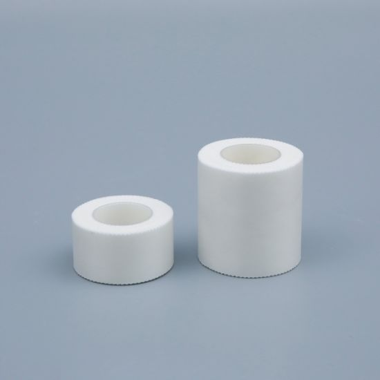 Customized White Breathable High Strength Medical Silk Tape with Ce Approval