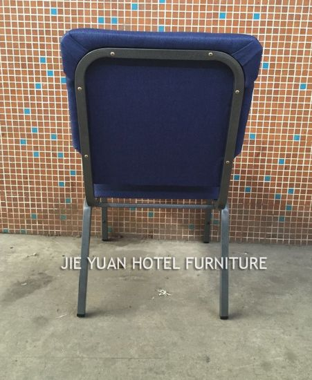 Steel Frame Stackable Auditorium Church Chairs (JY-G13) pictures & photos
