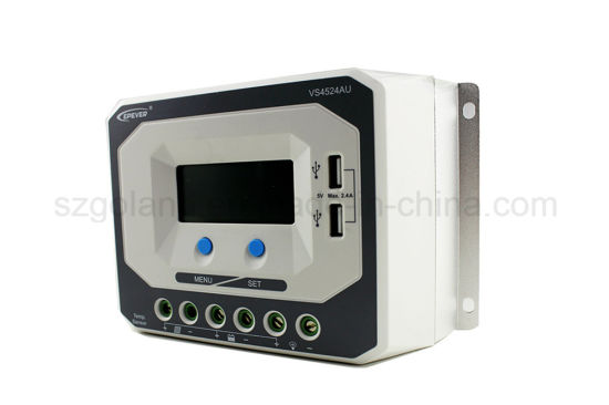 45A 24V Auto/Solar Energy/Power System Controller with USB pictures & photos