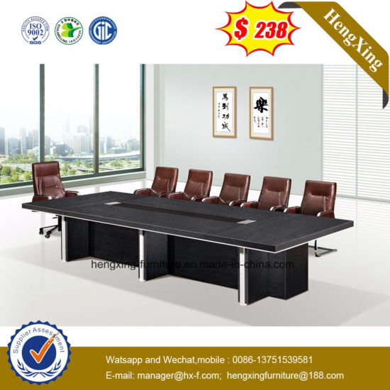 Luxury Glass Panel Big Sale Conference Table (HX-MT8056) pictures & photos