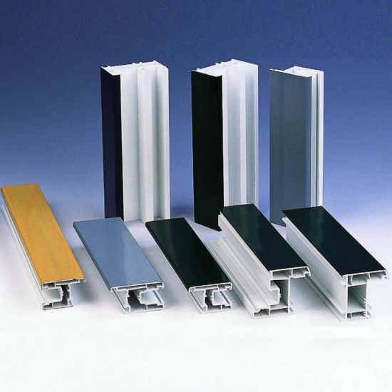 Plastic Profile Good Quality Plastic Window Profiles in China pictures & photos
