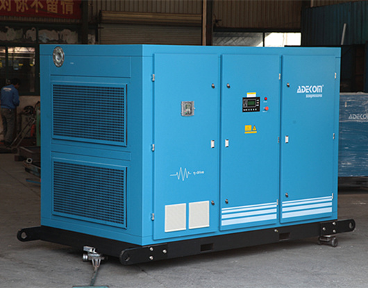 Two Stage Oil Fooled Energy Saving Electric Air Compressor (KF185-10II) pictures & photos