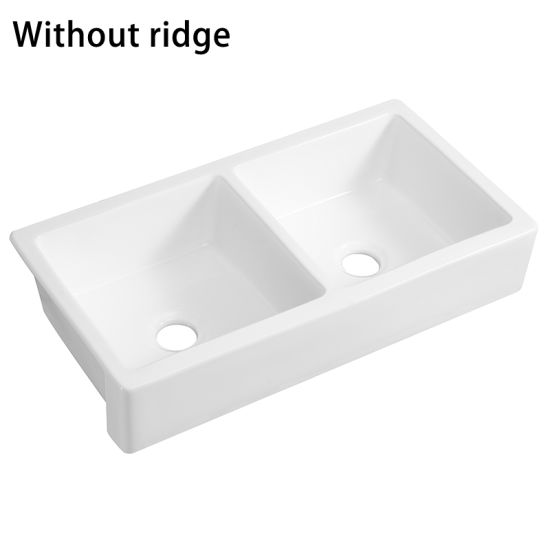 Double Bowls Farmhouse Ceramic Italian Blanco Kitchen Sinks Prices