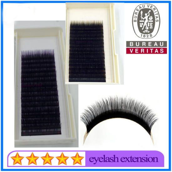c44ad0ca07f Eyelashes Private Label Faux Mink 0.07mm Volume Synthetic Eyelash Extension