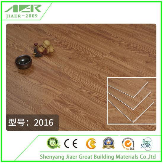 China Interlocking Kitchen Non-Slip Restaurant Spc Vinyl ...
