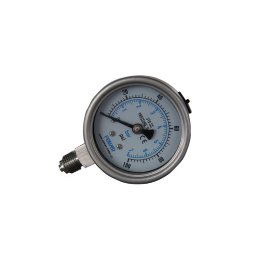"""Ybf60 2.5"""" High Quality All Stainless Steel Pressure Gauge"""