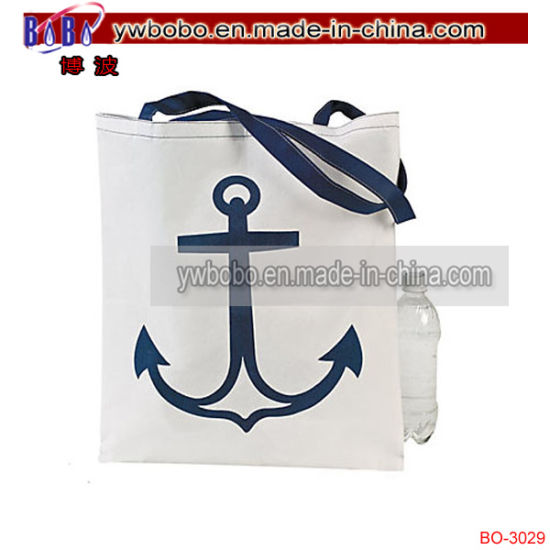 Office Supply Large White Anchor Tote Bags Promotional Items (BO-3029)