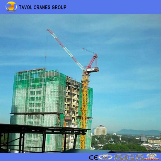 China Qtd4015 6ton Luffing Tower Cranes - China Tower Crane