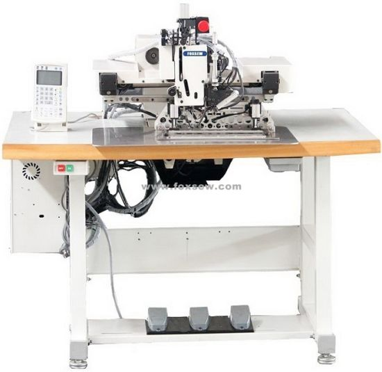 Extra Heavy Duty Automatic Pattern Sewing Machine with Large Shuttle Hook