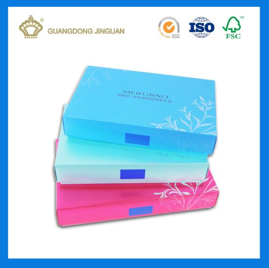 Luxury Cosmetic Paper Packaging Box with Custom Printing (Inner white PVC Tray) pictures & photos