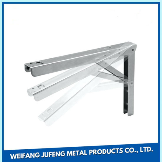 Custom Made Stainless Steel Glass Mirror/Granite Shelf Support Brackets