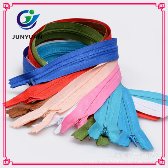 Closed-End Great Heavy Duty Invisible Zipper Nylon Hidden Zipper