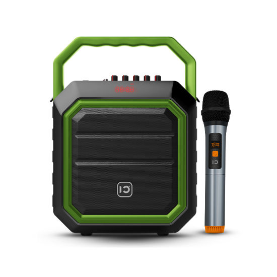 Super Bass Subwoofer and Tweeter Portable Karaoke Speaker