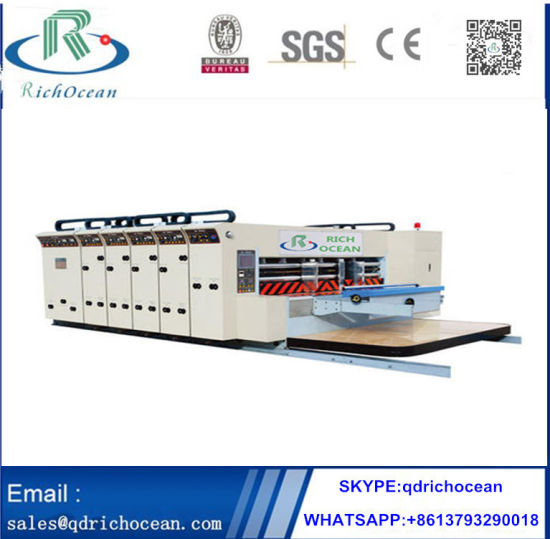 Corrugated Cardboard Printing Slotting Machine