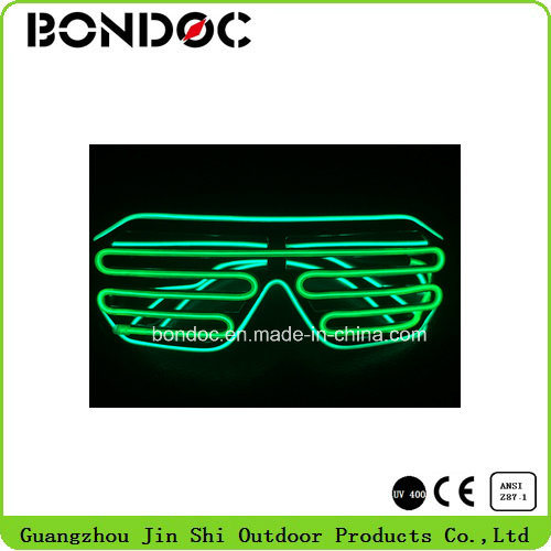 Wholesale LED Sunglasses Colorful EL Wire Decorate Glasses for Party pictures & photos