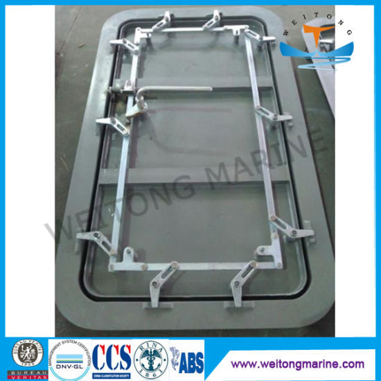 Marine Single Leaf Aluminum Weathertight Door for Boat & China Marine Single Leaf Aluminum Weathertight Door for Boat - China ...