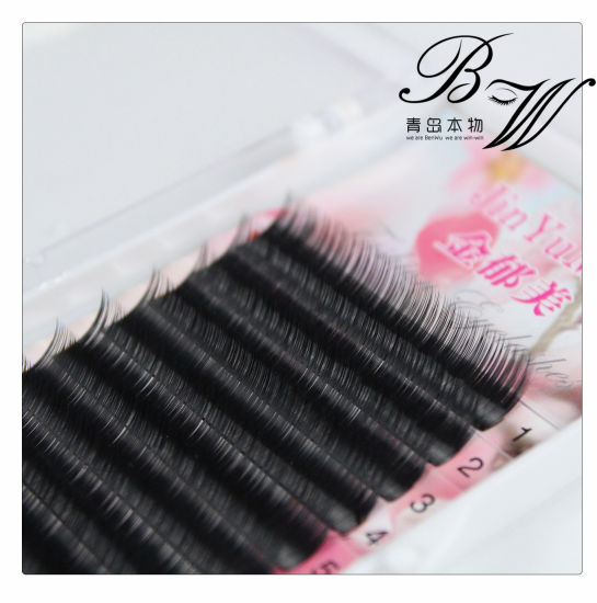 Cosmetics Wholesale Black Private Label Hand Made Individual Eyelash Extension