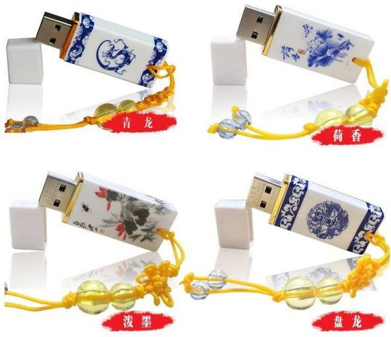 Chinese Style Blue and White Porcelain 4GB 8GB USB Flash Drive pictures & photos