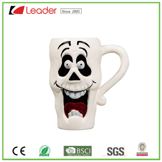 Funny Grimace Ceramic Cup for Halloween Gift and Decor pictures & photos