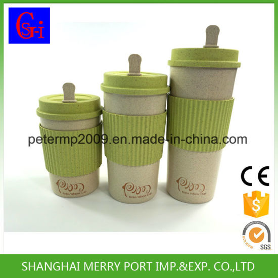 400ml/500ml/600ml Urgent Order Avaliable Free Sample Rice Husk Mugs pictures & photos