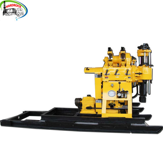 Portable Hydraulic Rotary Borehole Water Well Drilling Rig