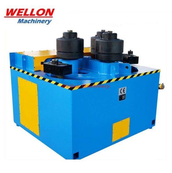 Horizontal Hydraulic Profile Rolling Pipe Bending Machine (W24Y-6 / W24Y-16 / W24Y-30 / W24Y-45)